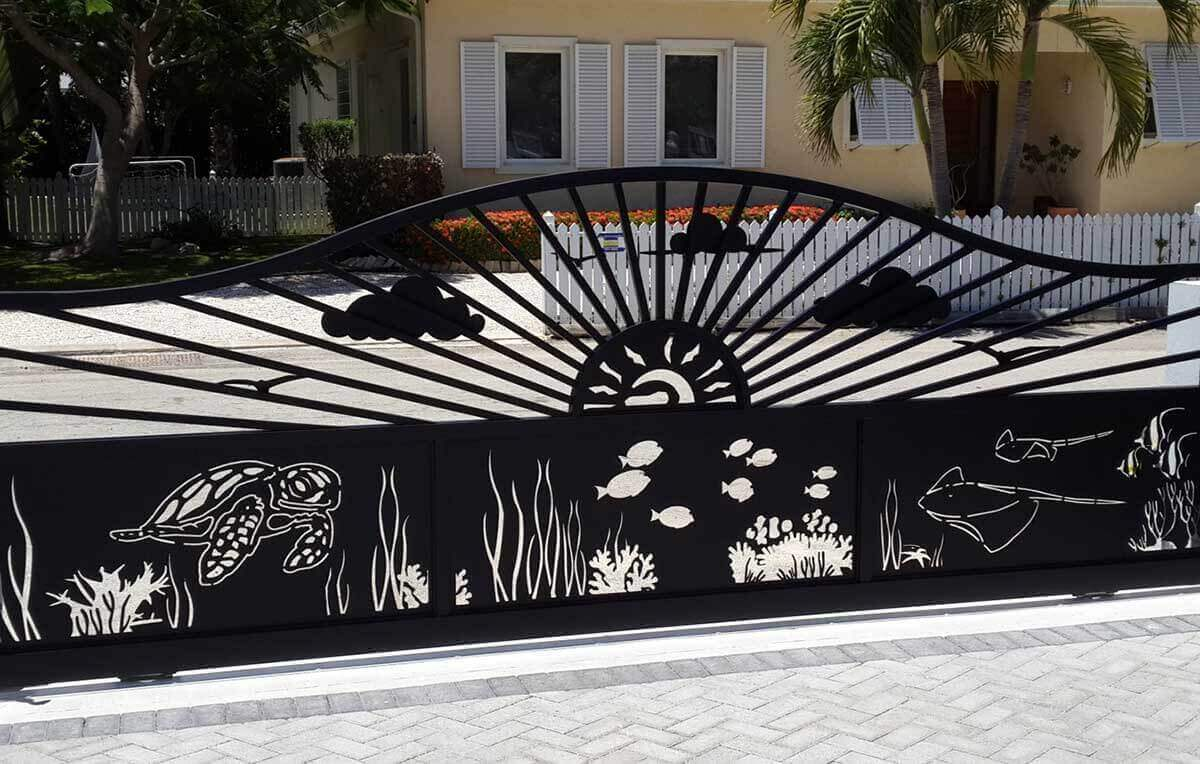 Designing and Installing Gates in Cayman Islands - Image2